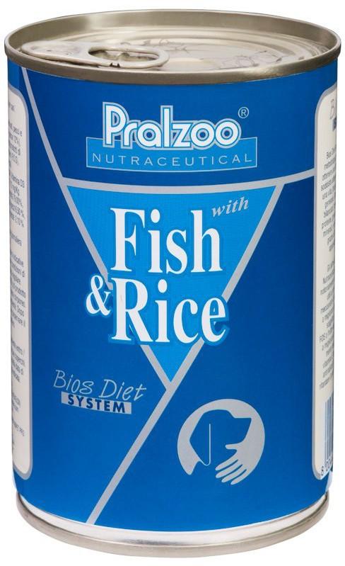 Pralzoo Fish e Rice monoproteico per cani