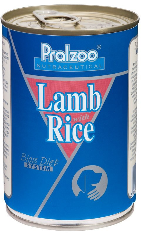 Pralzoo Lamb e Rice cibo umido per cani