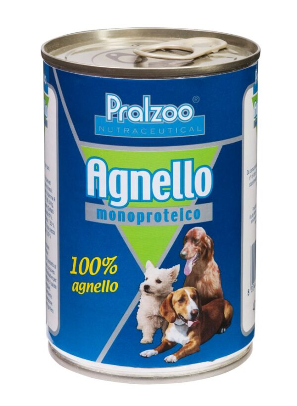 Pralzoo Monoproteico Agnello umido per cani allergici