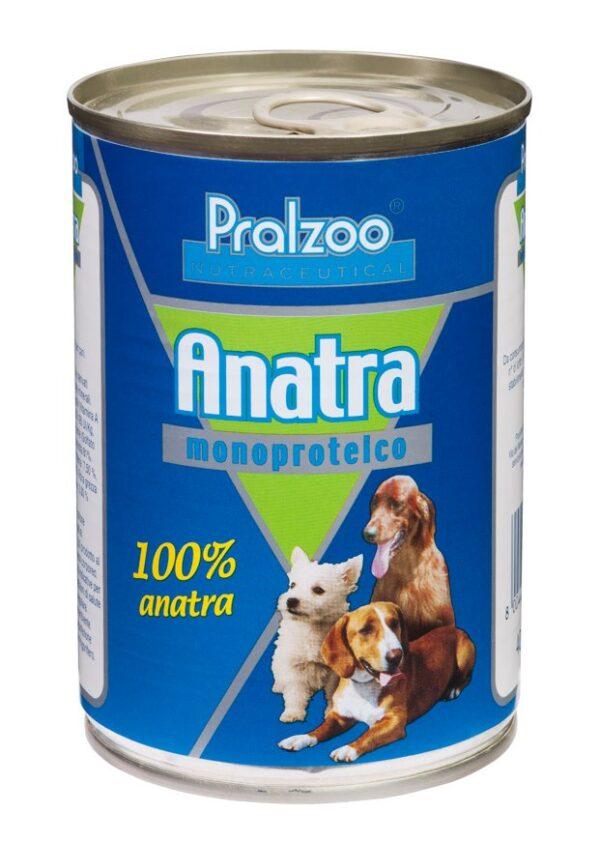 Pralzoo Monoproteico Anatra umido per cani