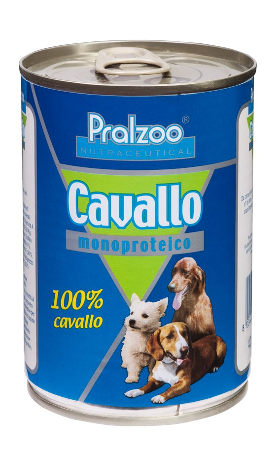 Pralzoo Monoproteico Cavallo cibo monoproteico cani