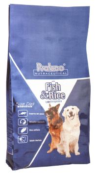Pralzoo Fish Rice crocchette ipoallergeniche