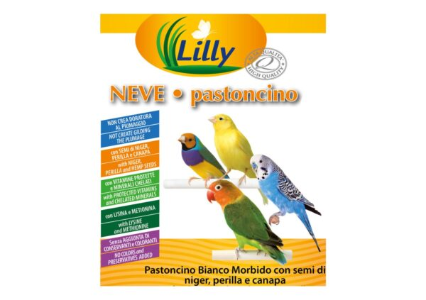 Lilly Neve Pastoncino etichetta