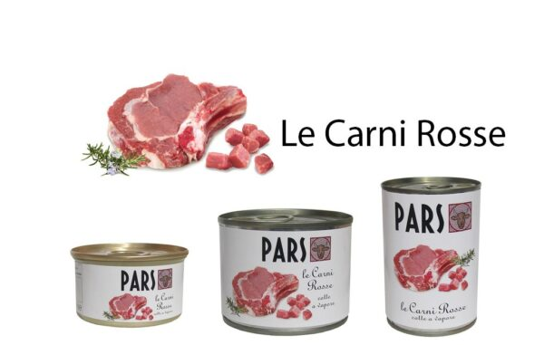 pars carni rosse 85 200 400 gr