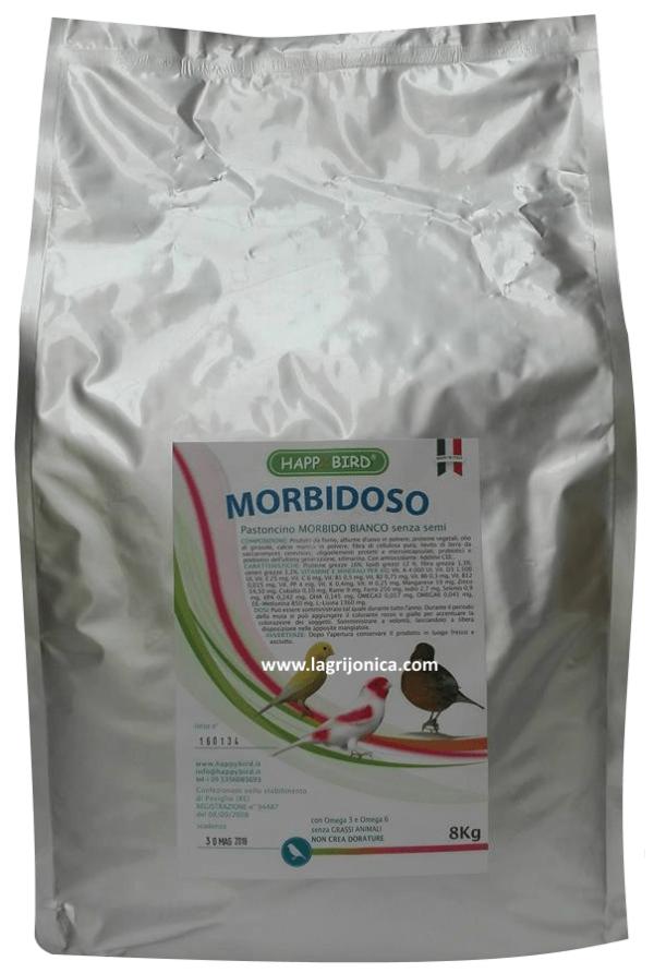 Happy Bird Morbidoso Pastoncino Bianco Senza Semi