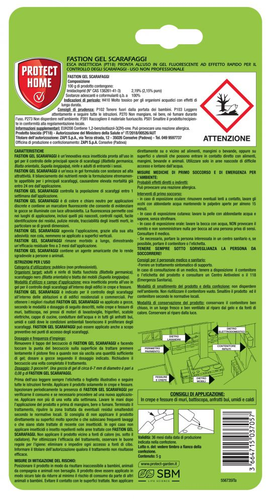 fastion gel scarafaggi 5 g retro1