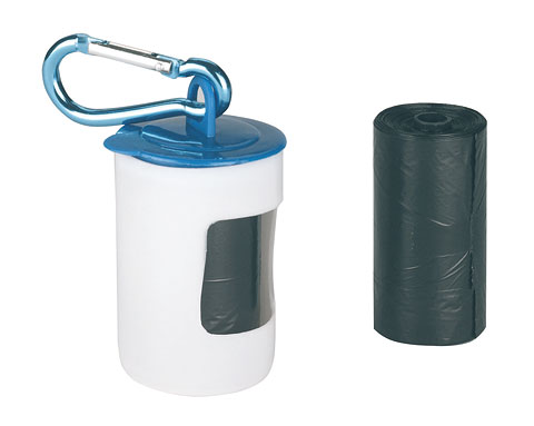 dispenser sacchetti igienici per cani passeggio