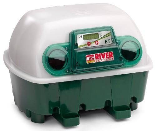 incubatrice automatica et 12 uova river systems