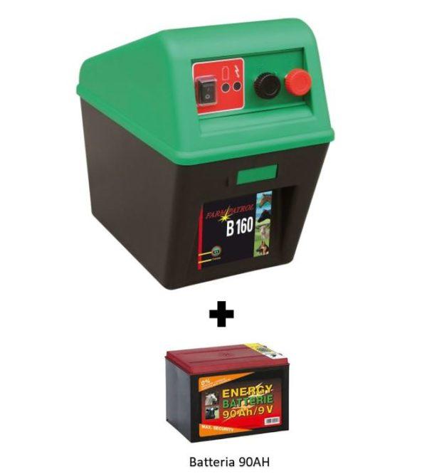 farm patrol b 160 elettrificatore a batteria 90ah