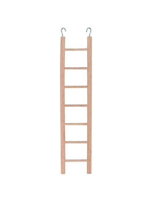 scaletta in legno per parrocchetti