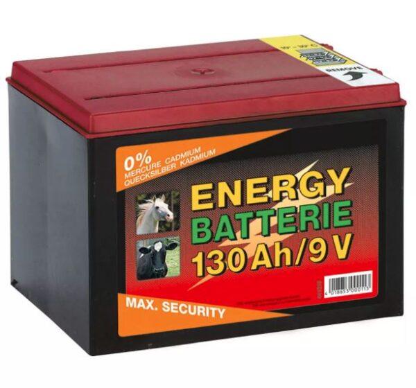 Batteria 9 V recinto elettrico 130 Ah a secco Kerbl