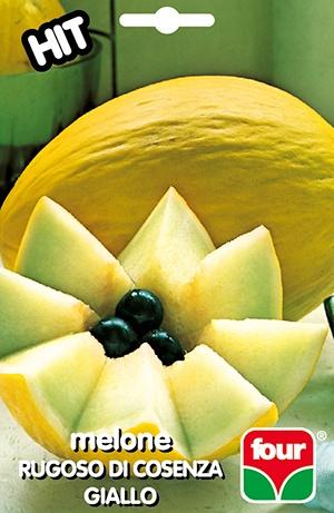 semi di melone rugoso giallo di cosenza