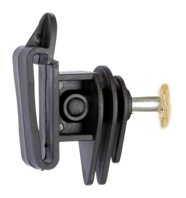 Isolatore per banda nastro fettuccia corda recinto elettrico 25 pz