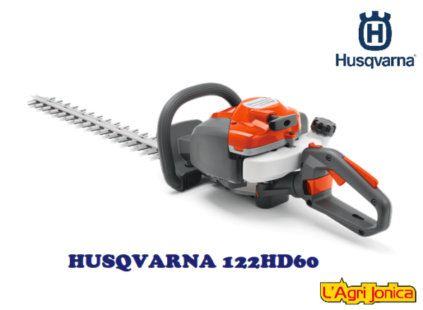 Tagliasiepe Husqvarna 122HD60 a scoppio CM 60