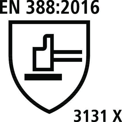 caratteristiche Guanti da lavoro EN 3882016 palmo in poliuretano