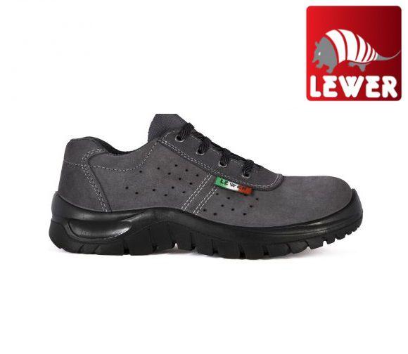 Lewer 3101 S1P scarpe antinfortunistiche pelle scamosciata