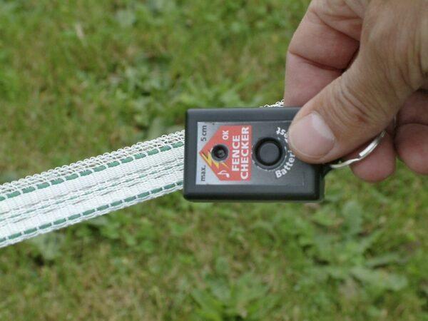 Fence Checker tester recinto elettrico acustico e visivo per recinti